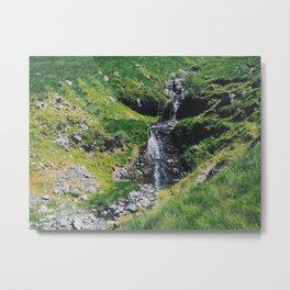 Hiking Ben More Metal Print