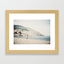 meat cove Framed Art Print