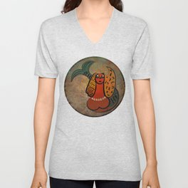 Mythical Mermaid / Icon Unisex V-Neck
