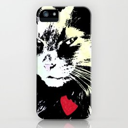 Key lime kitty iPhone Case