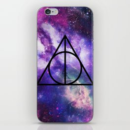 Deathly Hallows Galaxy iPhone Skin