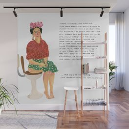 Frida Khalo Wall Mural
