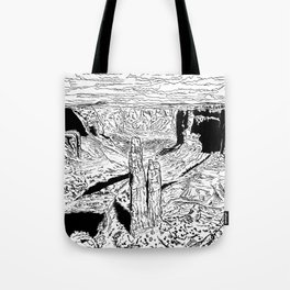 In the red desert (3) Tote Bag