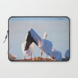 Pelican Wooing I Laptop Sleeve