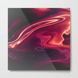 Siren - Marble Pattern Metal Print
