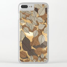 Under The Shade Of Trees IV Clear iPhone Case