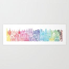Belgium Towers  Art Print