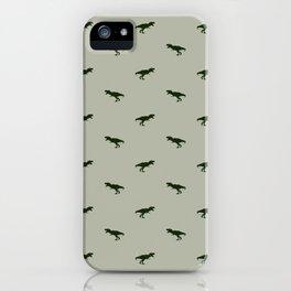 Rex Pattern iPhone Case