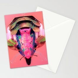 Quillifus synth Stationery Cards