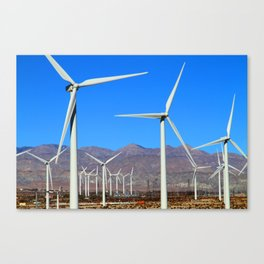 Wind Mill Power  Canvas Print