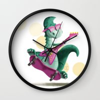 denver Wall Clocks featuring Denver  by CookiesOChocola