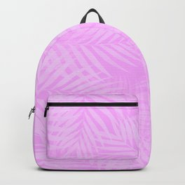 Palm Leaves - Orchid Pink Backpack