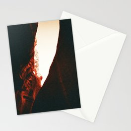 Hand Carving the Desert Rock 2 Stationery Cards