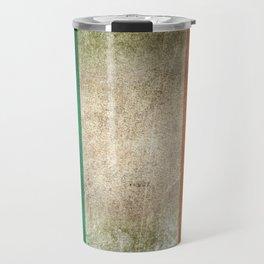 Old and Worn Distressed Vintage Flag of Ireland Travel Mug