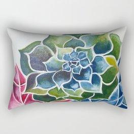 Succulents & Crystals Rectangular Pillow