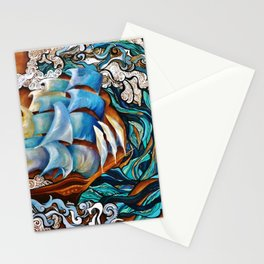 Without Masts Stationery Cards