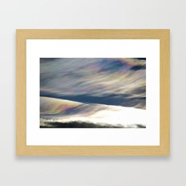Magic Clouds Framed Art Print