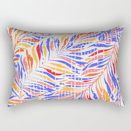 Textured Leaves Rectangular Pillow