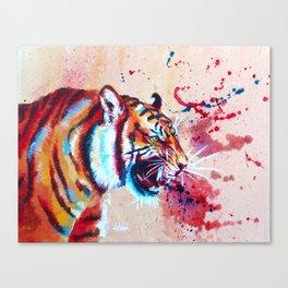 Vivid Rage Canvas Print