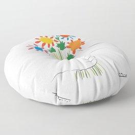 Le Bouquet Pablo Picasso Floor Pillow