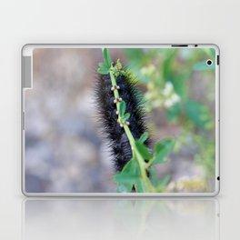 Fuzzy Black Caterpillar Feet Laptop & iPad Skin