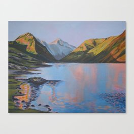 Still sunset over Wastwater Canvas Print