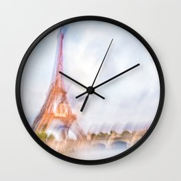 The Eiffel Tower 3 Wall Clock