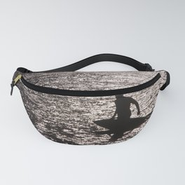 surf on silver Fanny Pack