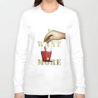 tea Long Sleeve T-shirts featuring Tea by gazonula