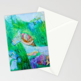 All the horses Stationery Cards