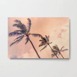 Palms Away - Study 2 Metal Print