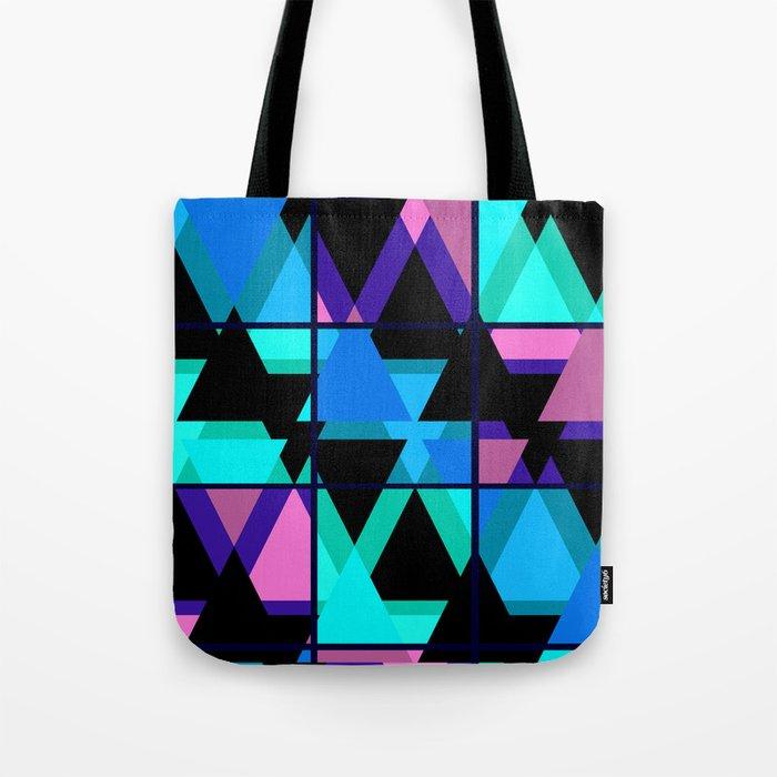 Colorful triangles . No. 1 Tote Bag