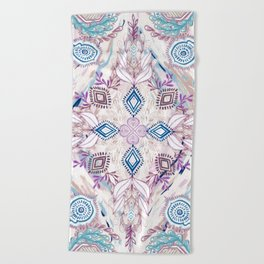 Wonderland in Winter Beach Towel