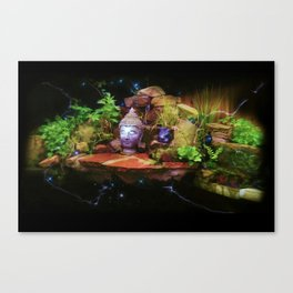 Secret Pond Canvas Print