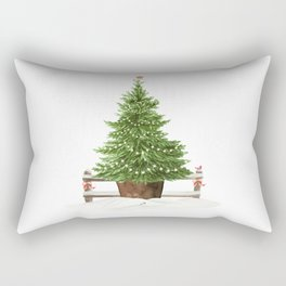 Christmas In The Country Rectangular Pillow