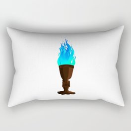 Real Goblet of Fire Rectangular Pillow