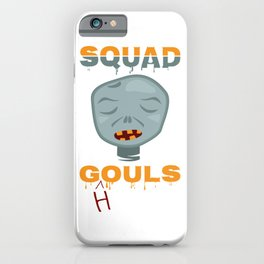 Squad ghouls, New halloween graphic 2020 iPhone Case