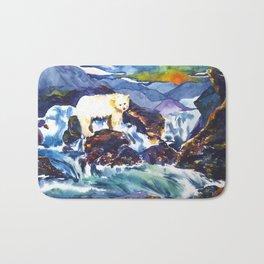 Sunset ♥ Bear Bath Mat
