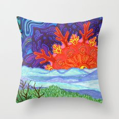 Hope Rises Throw Pillow