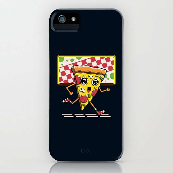 Pizza Run iPhone Case