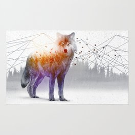A Wilderness Within / Wolf Rug