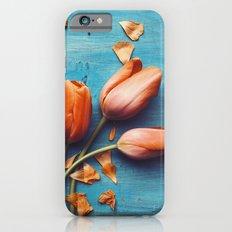Orange Tulips iPhone 6s Slim Case