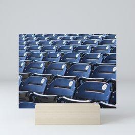Play Ball! - Stadium Seats - For Bar or Bedroom Mini Art Print