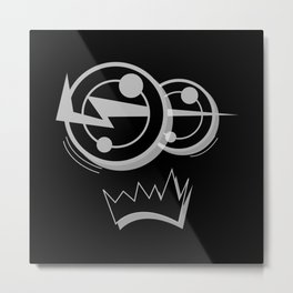 KEiTH BLACK SiDE ver. (Original Characters Art By AKIRA) Metal Print
