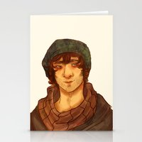 grantaire Stationery Cards featuring Grantaire by deadpokerface