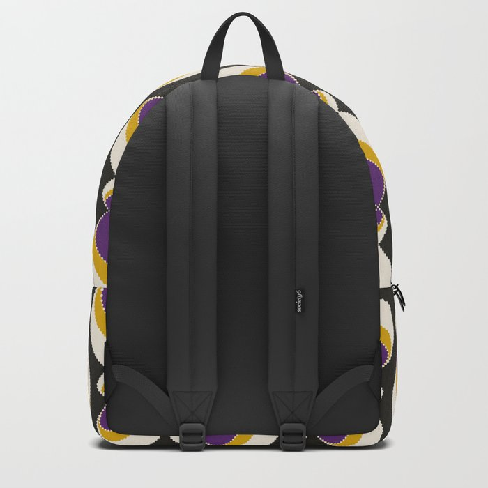 "Abstract pattern "" Carnival "". Backpack"