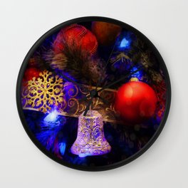 The Night Of Magic Wall Clock
