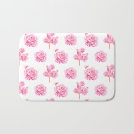 Rose Pop Bath Mat