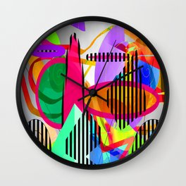 Hatch-Patch Wall Clock