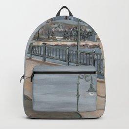 Red Rock Ocean Winter Backpack